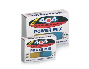 404 Plastik Çelik Macun Power Mix 40gr